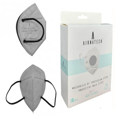 LIGHT GREY FFP2 - Face Masks - 20 units